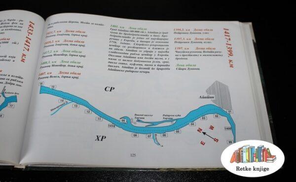 Putanja na Dunavu za čamce