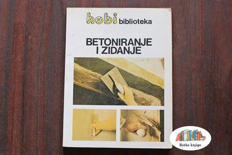 knjiga o betoniranju i zidanju