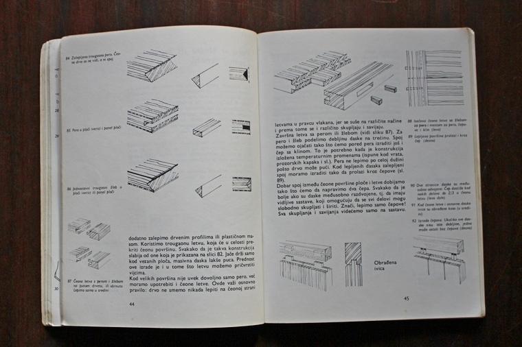 načini spajanja drvenih elemenata