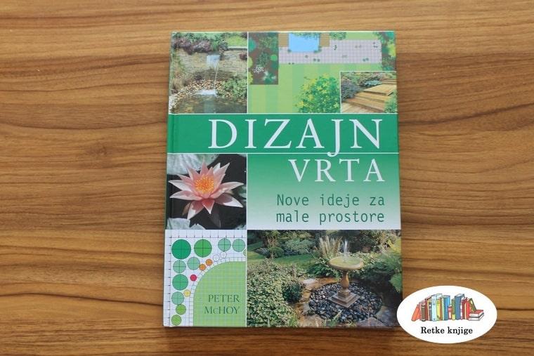 naslovna korica knjige dizajn vrta