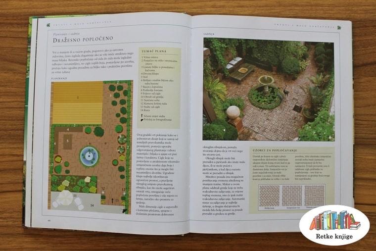 popločavanje vrta