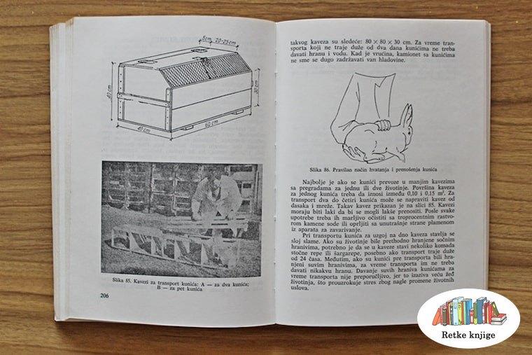 kavez za transport kunića i način nošenja kunića