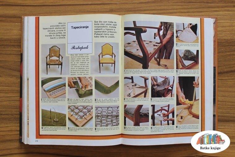 Prikaz tapaciranja stolice