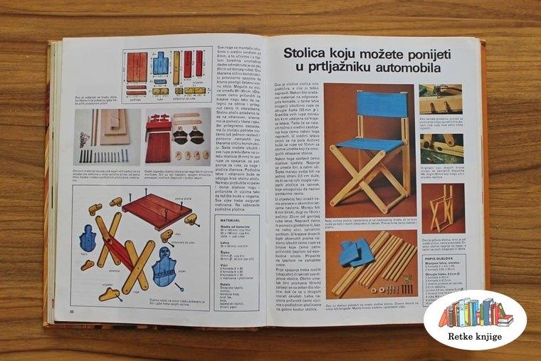 nacrt za sklopivu stolicu