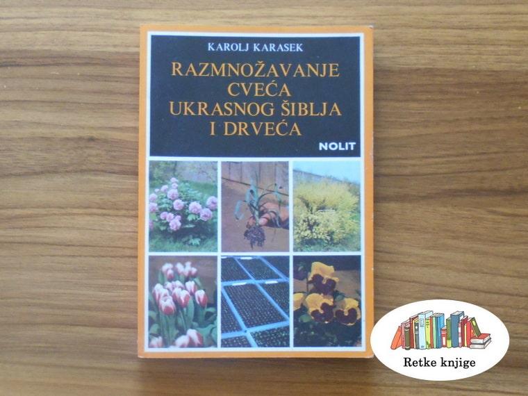 Razmnožavanje cveća, ukrasnog šiblja i drveća naslovna strana