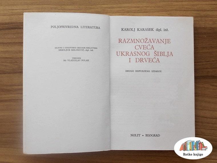 Naslov u knjizi