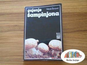 Knjiga o gajenju šampinjona na prodaju