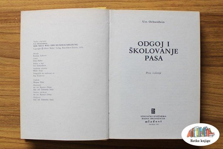 Nalovna stranica sa imenom knjige