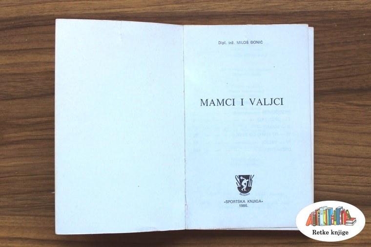 Naslovna strana knjige Mamci i valjci