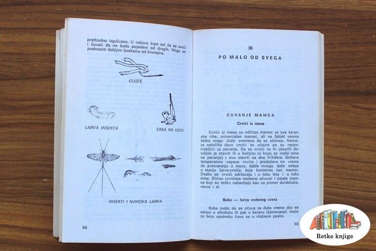 Prikaz insekata i naslov u knjigi