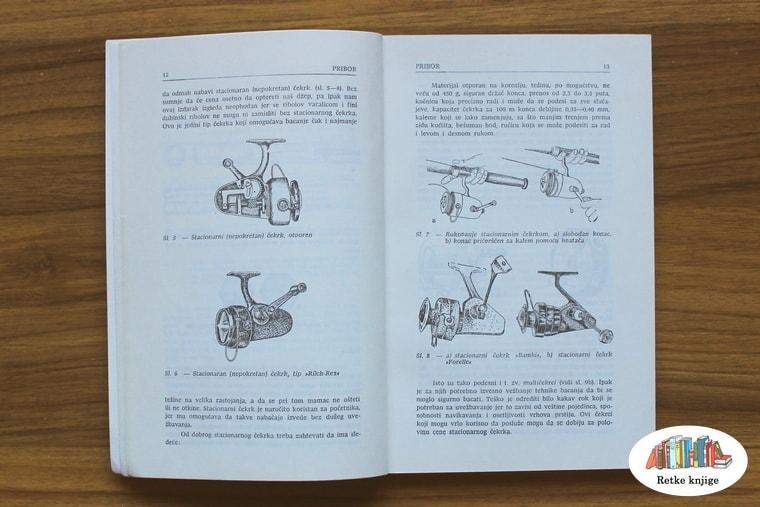 Prikaz i opis mašinica za pecanje