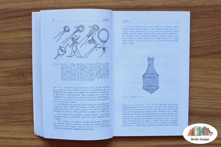 Prikaz čuvarke i karika za štapove