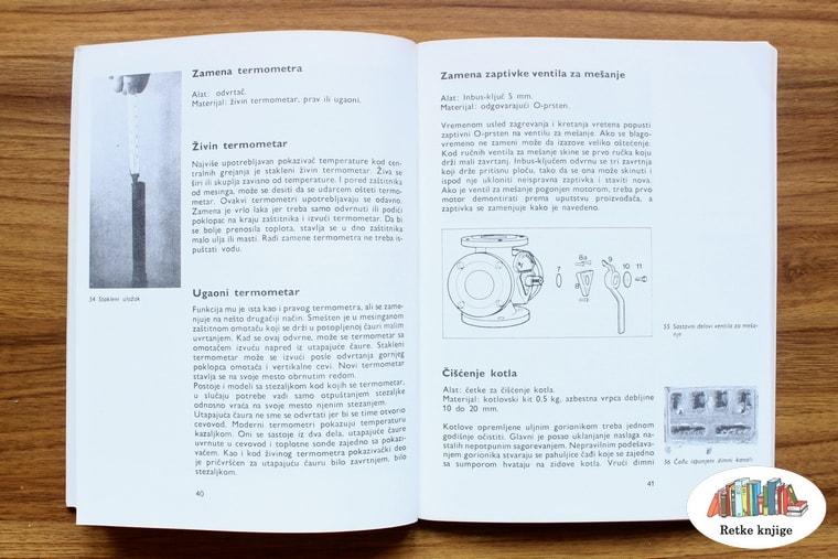 prikaz ventila za ispuštanje vazduha sa opisom
