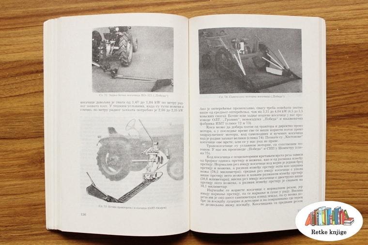 prikaz i opis kosačice na traktoru