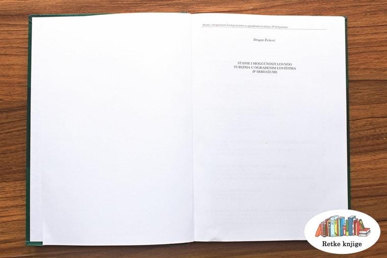 Naslovna strana knjige sa naslovom