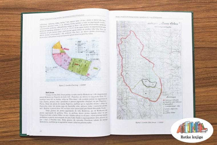 Prikaz lovišta Deli Jovan sa kartom