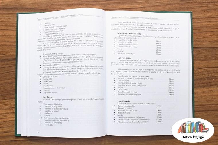 spisak u knjizi