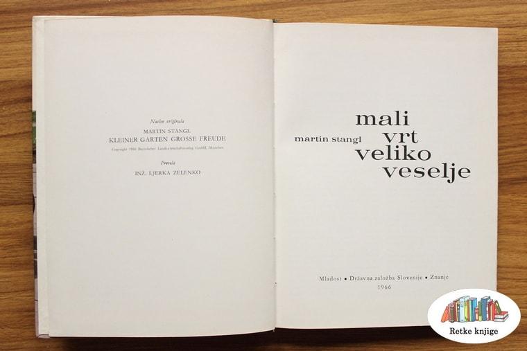 Naslovan strana knjige