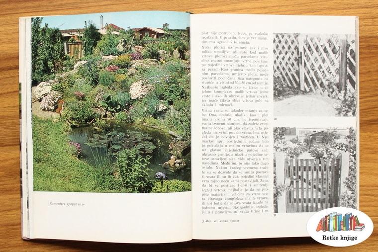 slika u koloru jednog vrta
