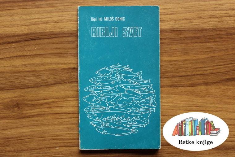 Izgleda knjige riblji svet