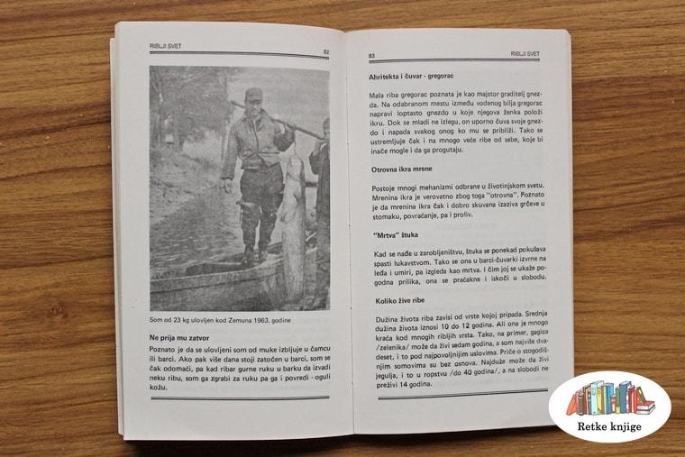 prikaz kapitalnog soma na fotografiji i opis tehnike pecanja