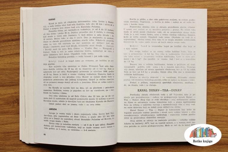 Prikaz i opis kanala dunav - tisa - dunav
