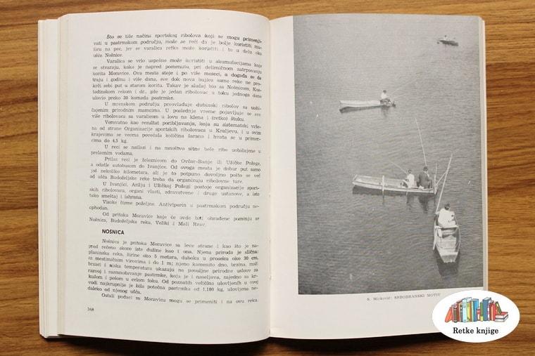 Prikaz čamaca sa ribolovcima