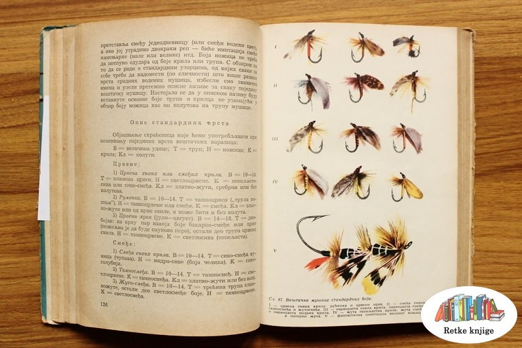 opis i prikaz mušica za ribolov