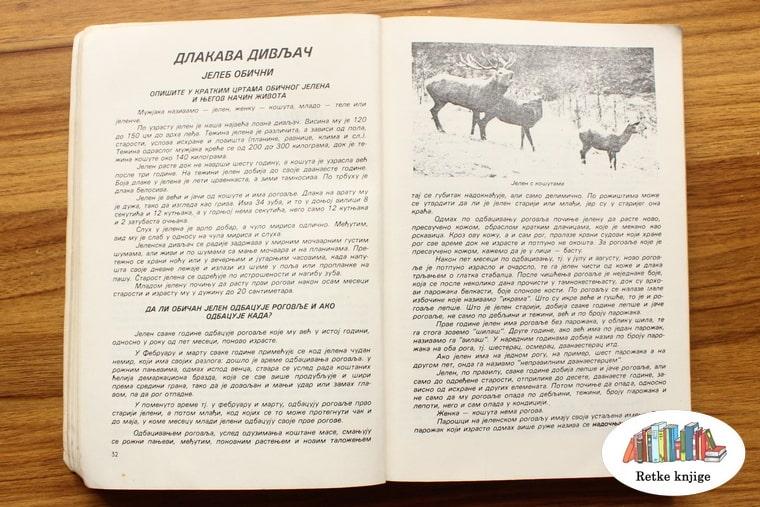 prikaz i opis jelena