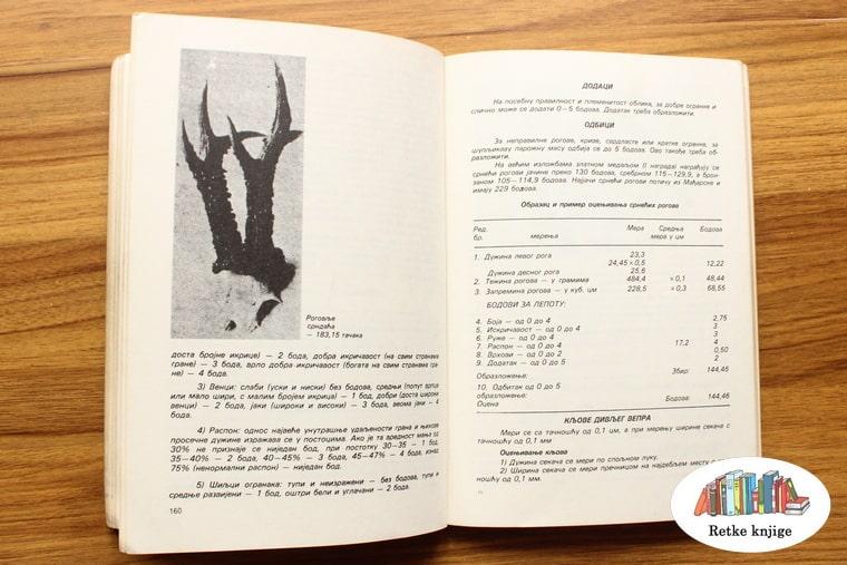 prikaz trofeja i opis ocenjvanja rogova srndaća