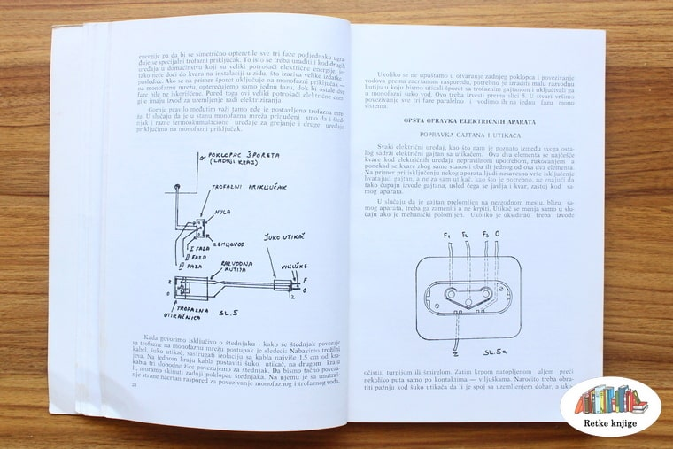 prikaz električne šeme i kako radi utikač