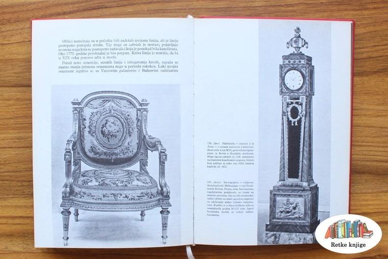 tapacirana stolica i veliki sat