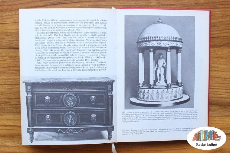 komoda i ukrasna statua