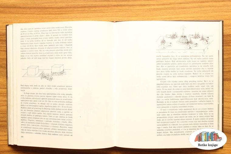 postupak formiranja ikebane, opis