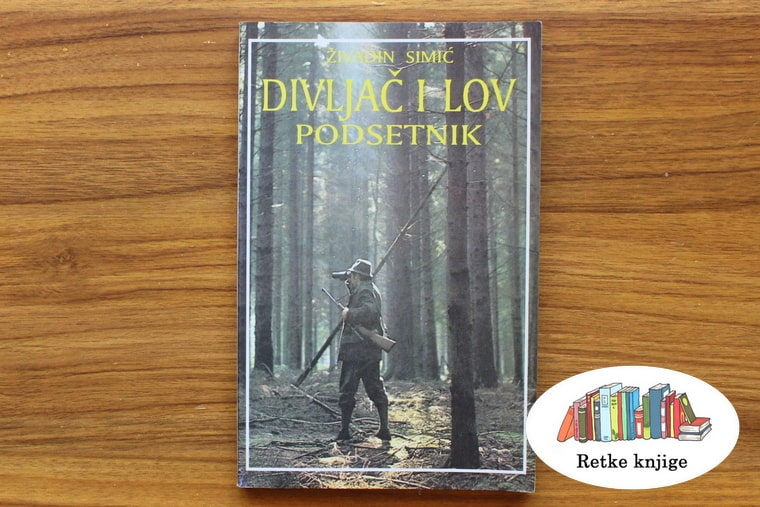 prednja korica knjige sa slikom lovca u šumi