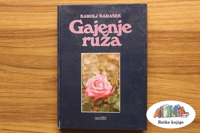 Prednja korica knjige o ružama