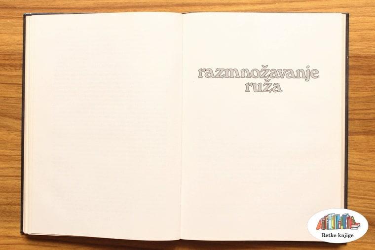 naslov poglavlja o razmnožavanju ruža