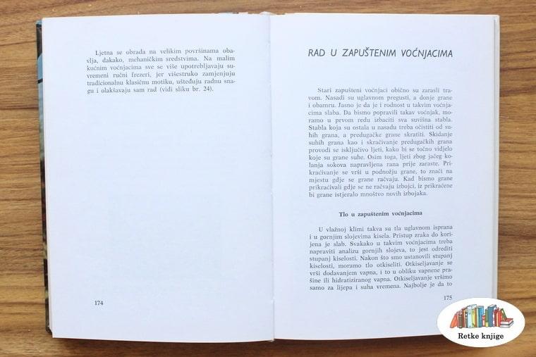postupak u zapuštenom voćnjaku, poglavlje