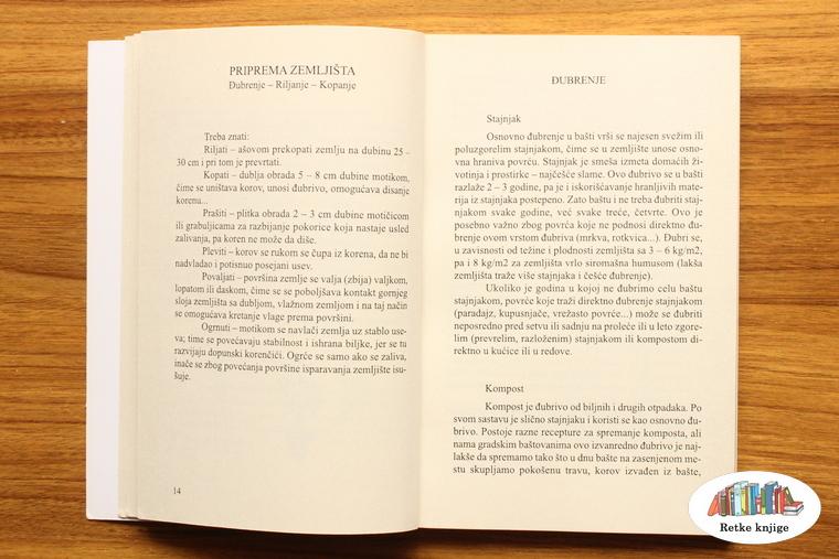 poglavlje o đubrenju povrća