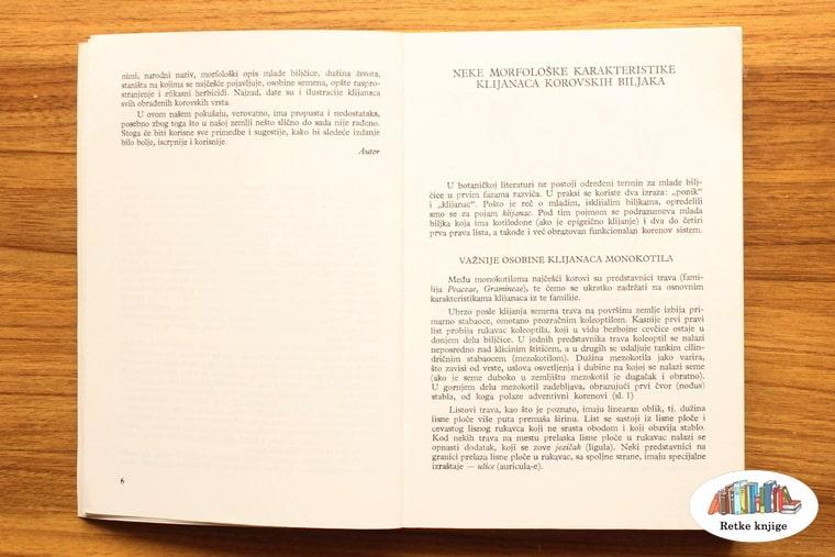 poglavlje o morfološkim osobinama