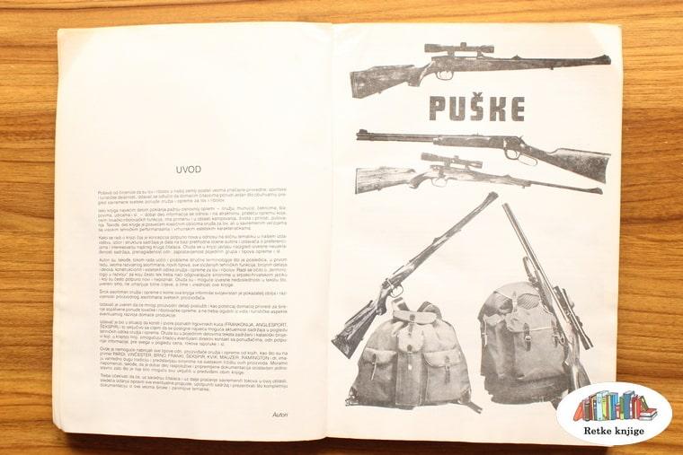 poglavlje o puškama i lovačkoj opremi