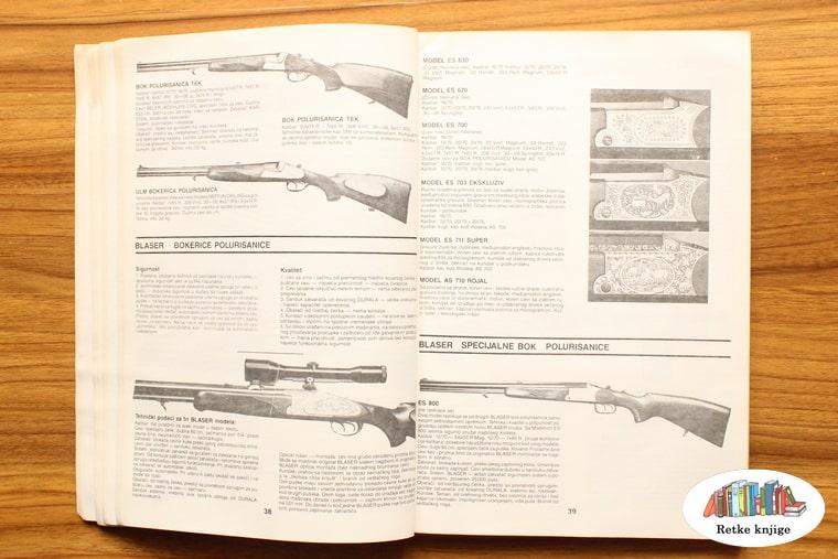 prikaz gravura na lovačkom oružiju