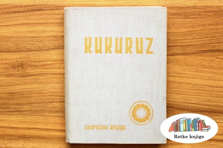 Prednja korica knjige o kukuruzu