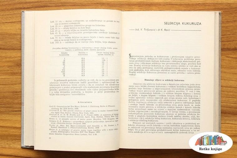 poglavlje o selekciji kukuruza