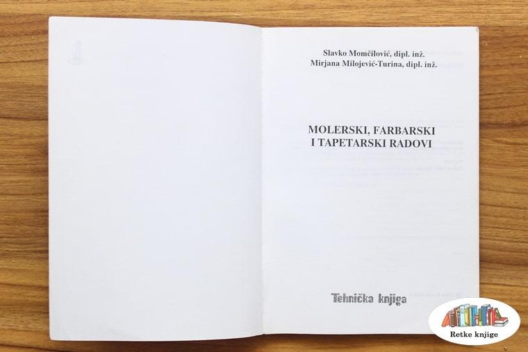 Naslovna strana knjige o farbanju