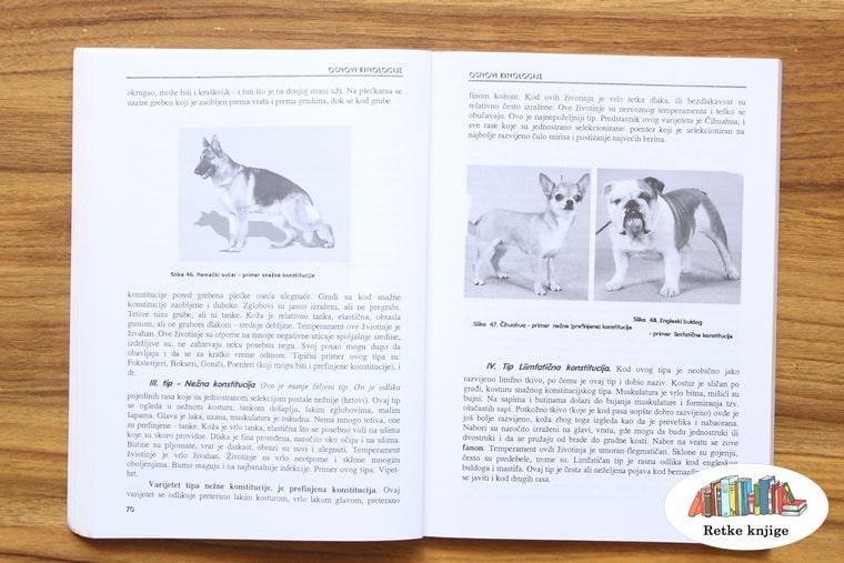 prikaz različitih rasa pasa