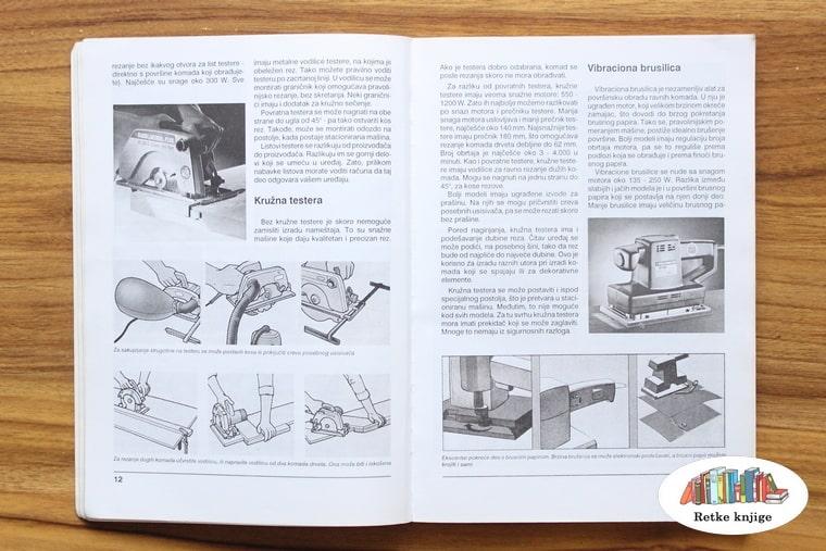Prikaz ručnok cikulara i abrihtera sa opisom