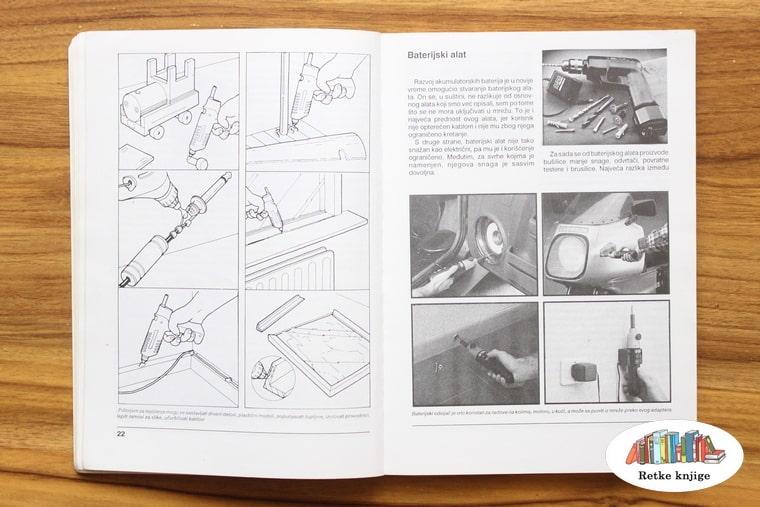 prikaz rada sa ručnim alatom