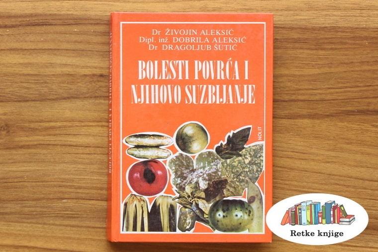 Prednja korica knjige Bolesti povrća i njihovo suzbijanje