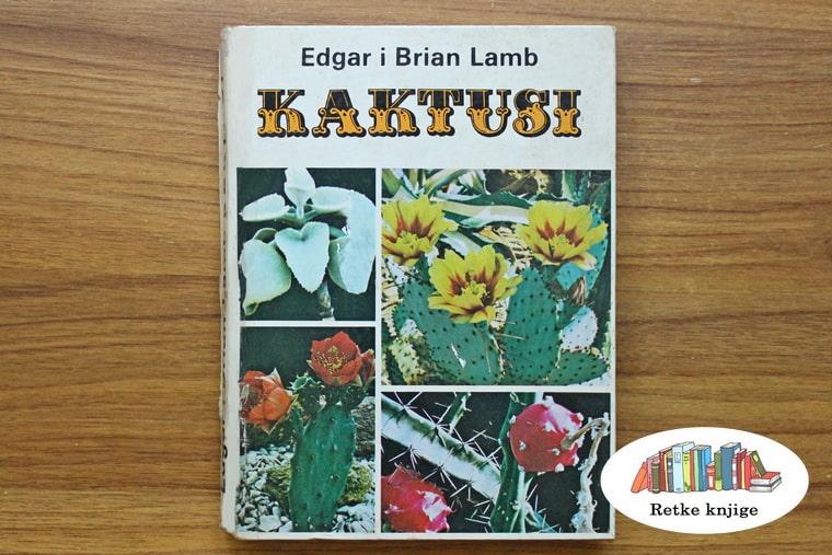 prednja korica knjige o kaktusima